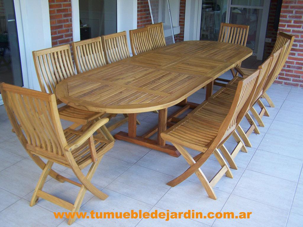 Galerias de imagenes tu mueble de jardin - Mesas ovaladas extensibles ...
