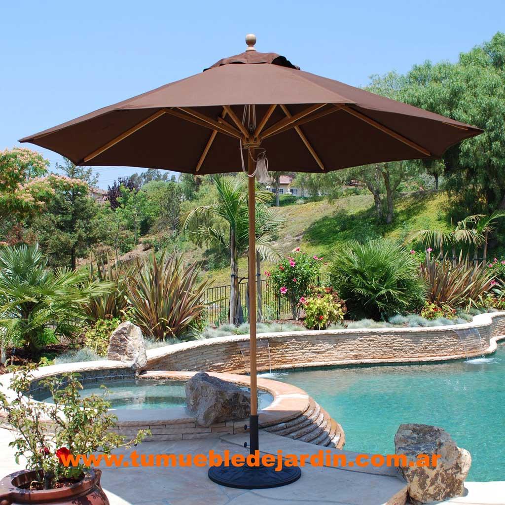 Galerias de imagenes tu mueble de jardin - Sombrilla de jardin ...
