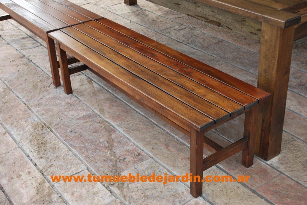 Muebles de jardin en berazategui for Muebles de teka para jardin