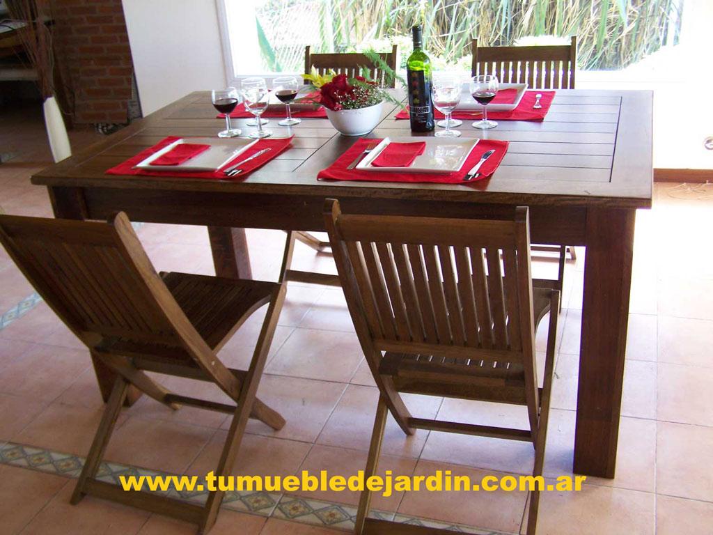 Mesas cuadradas for Mesas cuadradas de madera