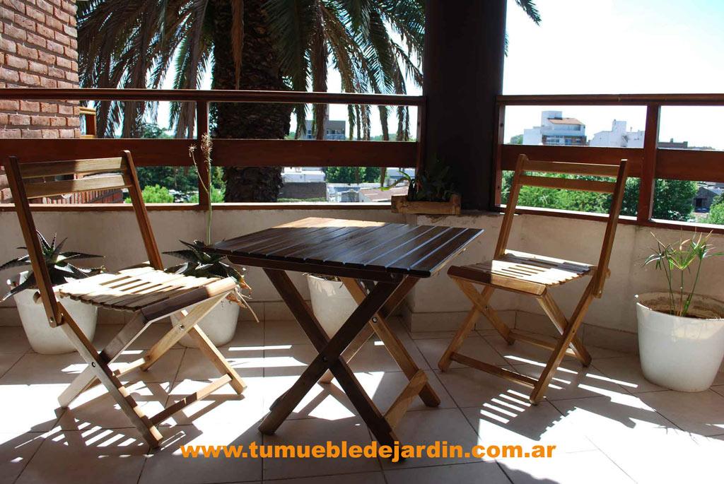 mesas para balcon