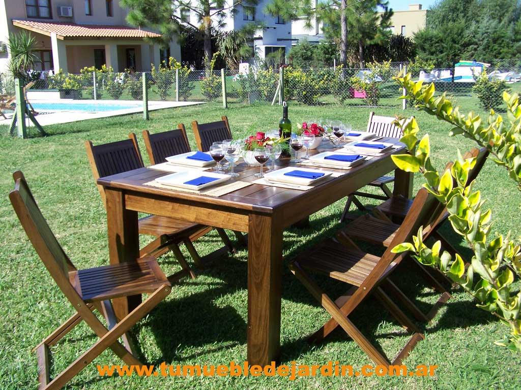Muebles de jardin en la reja for Muebles juveniles zona oeste